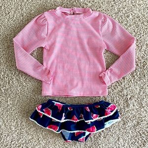 ☀️SALE☀️ NEW Seersucker & Watermelon Swim Suit